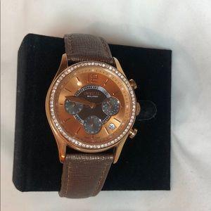 Breil bronze watch